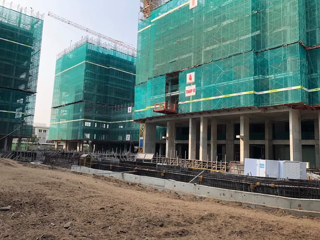 Hình ảnh được chụp từ phía công viên nội khu của dự án Lovera Vista - Khang Điền HCM