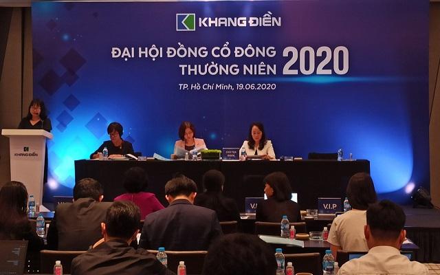 Đại hội đồng cổ đông thường niên 2020 của Khang Điền