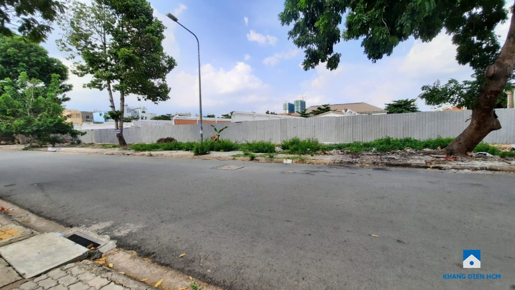 Dự án Căn hộ Khang Điền Bình Tân có vị trí tốt khi có mặt tiền đối diện với Công viên KDC Lý Chiêu Hoàng