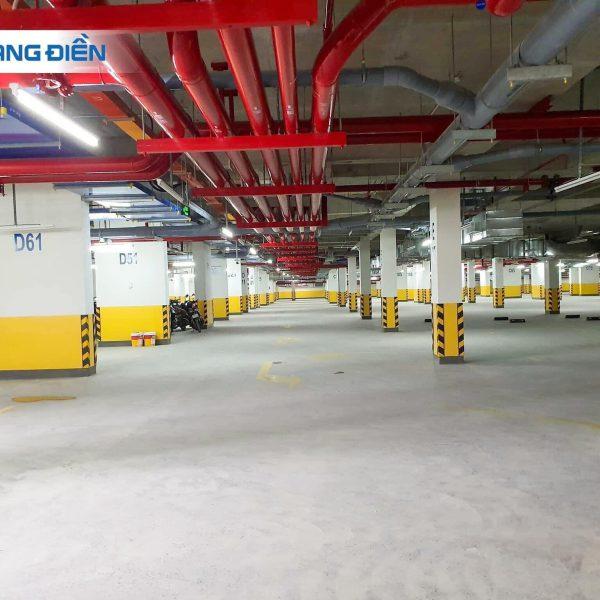 Tầng hầm đã tiến hành nghiệm thu và được đưa vào sử dụng - Khang Điền HCM