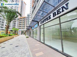 Khu Shophouse cũng đã sẵn sàng phục vụ những dịch vụ thiết yếu của cư dân - Khang Điền HCM