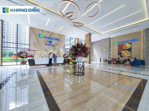 Sảnh đón cư dân được Khang Điền thiết kế sang trọng tạo ấn tượng ngay từ lúc đặt chân vào dự án - Khang Điền HCM