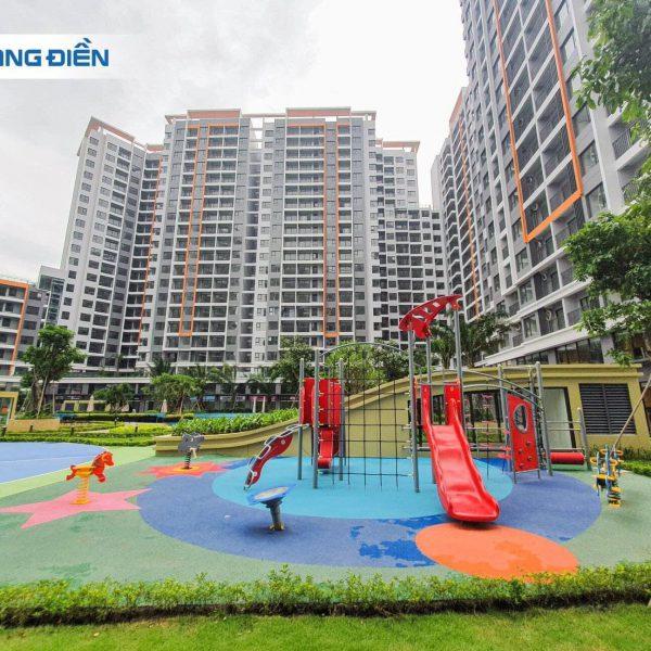 Khu vi chơi trẻ em cũng đã hoàn thiện và nghiệm thu xong, sẵn sàng đưa vào sử dụng - Khang Điền HCM