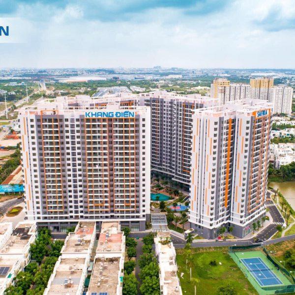 Dự án căn hộ Safira Khang Điền Quận 9 đã hoàn thiện và đang tiến hành bàn giao tháng 07-2020 - Khang Điền HCM