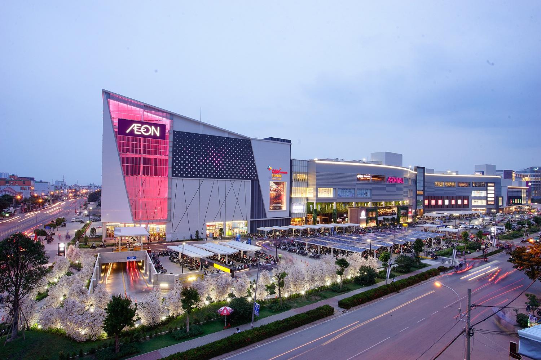 Trung tâm thượng maik AEON MALL Bình Tân tọa lạc trên đường Tên Lửa - Khang Điền HCM