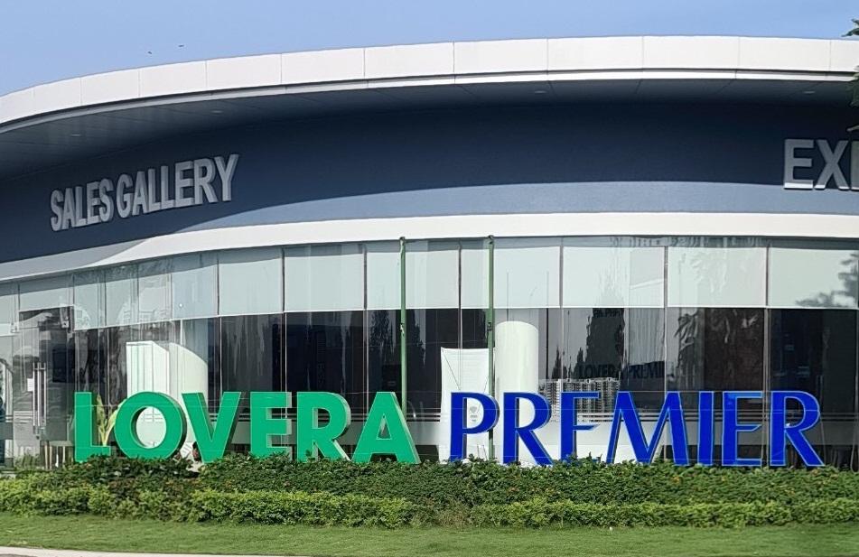 Nhà điều hành dự án nhà phố Lovera Premier tọa lạc ngay tại KDC Phong Phú 4 Bình Chánh - Khang Điền HCM
