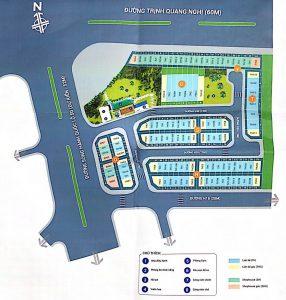 Phối cảnh tổng thể dự án nhà phố Lovera Premier Khang Điền Bình Chánh - Khang Điền HCM