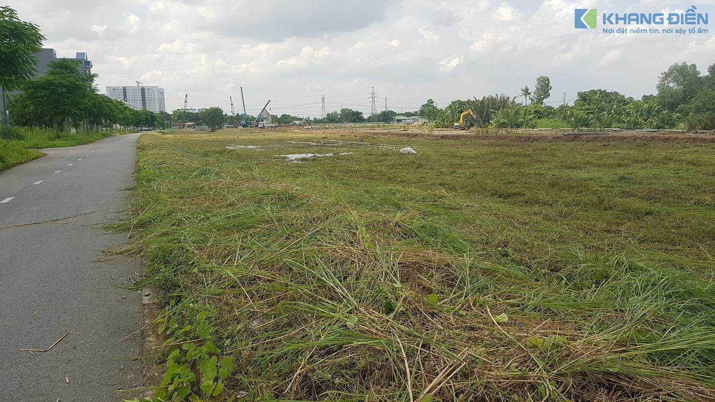 Đường Song Hành Quốc Lộ 50 lộ giới 52m đi ngang qua dự án đã có mặt bằng để khởi công - Khang Điền HCM