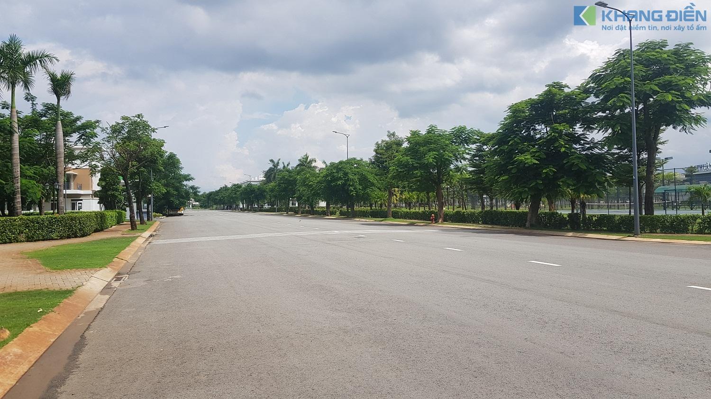 Mật độ xây dựng thấp cùng mảng xanh ấn tượng tại dự án Lovera Park Bình Chánh - Khang Điền HCM