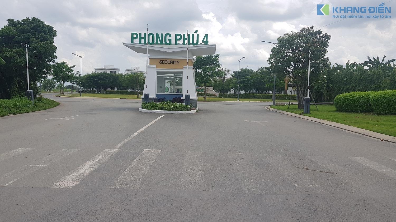 Đây là công chính đi vào dự án Lovera Premier Bình Chánh - Khang Điền HCM