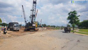 Máy móc đã được đưa vào triển khai dự án từ tháng 07 - 2020 - Khang Điền HCM