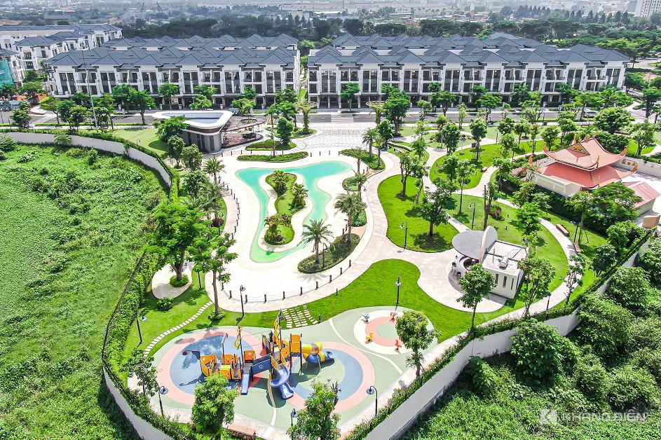 Verosa Park - Quần thể nhà phố liền kề, biệt thự được Khang Điền phát triển năm 2019 hiện tại đã có cư dân về sinh sống - Khang Điền HCM