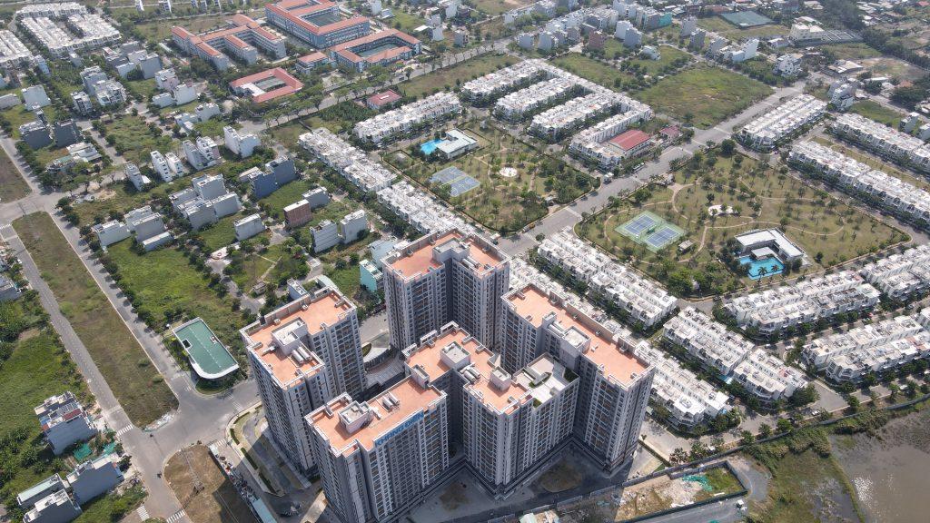 Toàn cảnh dự án Lovera Vista và KDC Phong Phú 4 Bình Chánh