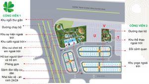 Mặt bằng tổng thể dự án Lovera Premier Bình Chánh - Khang Điền HCM