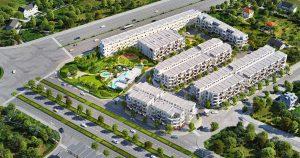 Phối cảnh tổng thể dự án Lovera Premier Bình Chánh - Khang Điền HCM