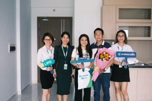 Sự hài lòng của khách hàng khi nhận nhà phần nào phản ánh được uy tín của Khang Điền - Khang Điền HCM