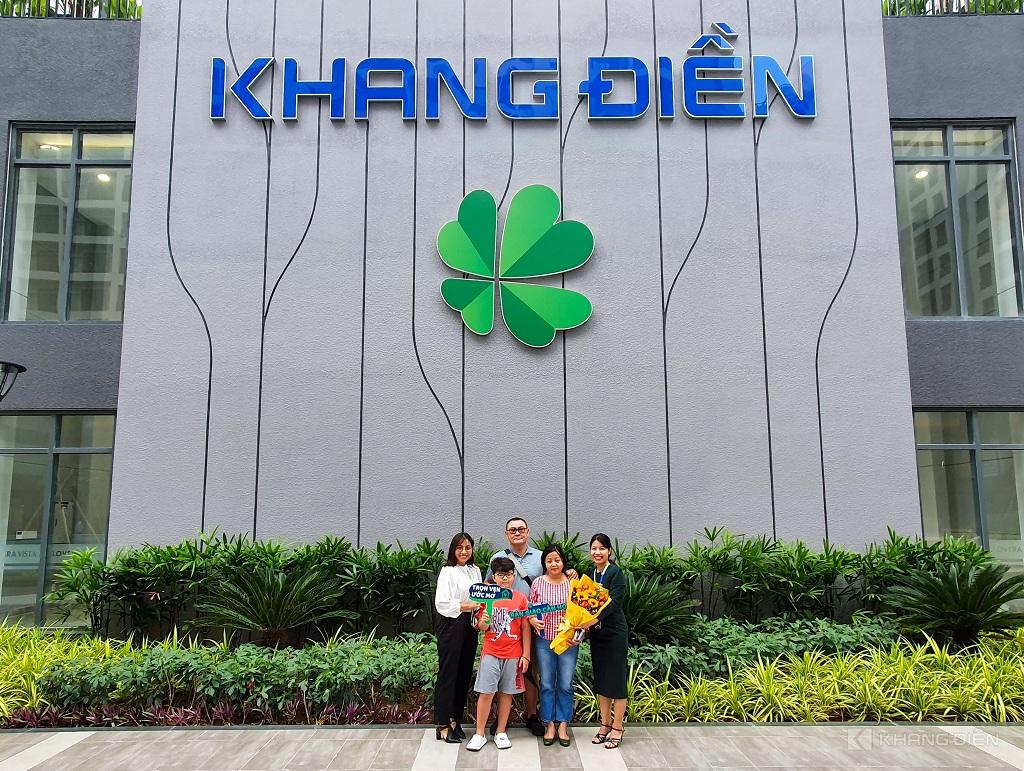 Khách hàng bất ngờ trước sự chỉnh chu và nhiệt tình từ Khang Điền đến đội ngũ bàn giao - Khang Điền HCM