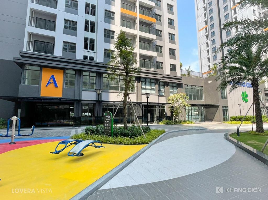 Tiện ích nội khu đã sẵn sàng phục vụ cư dân về an cư tại Lovera Vista - Khang Điền HCM