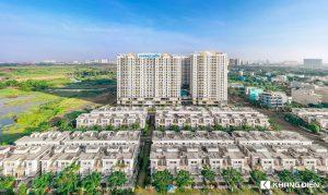 Dự án Lovera Vista Bình Chánh góc nhìn từ hướng Lovera Park - Khang Điền HCM