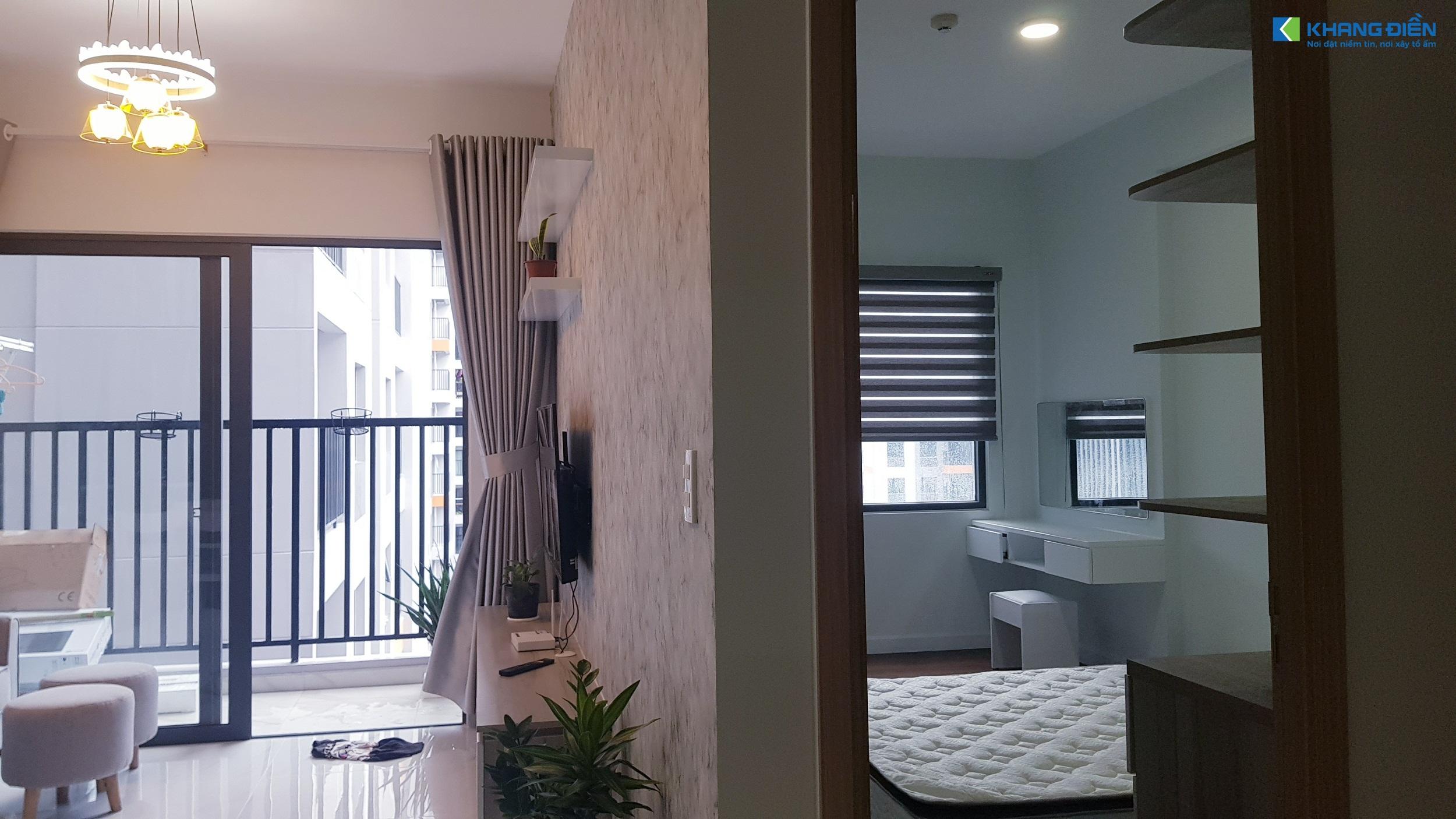 Một góc khác giữa Phòng Khách và Phòng Ngủ - Khang Điền HCM