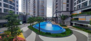 Toàn cảnh khuôn viên nội khu trong dự án Lovera Vista Bình Chánh - Khang Điền HCM