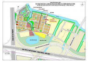 Mặt bằng phân lô tổng thể dự án Armena Khang Điền Thành Phố Thủ Đức - Khang Điền HCM