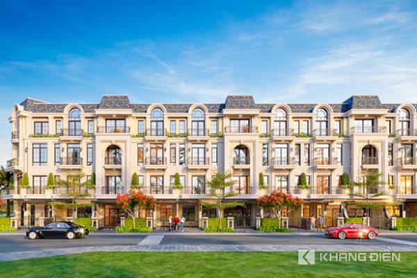 Phối cảnh tổng thể dự án nhà phố, biệt thự Armena Khang Điền Quận 9 - Khang Điền HCM