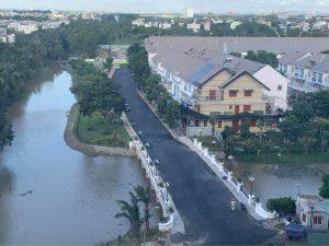 Cầu nối giữa dự án Safira Khang Điền và Mega Ruby Khang Điền đã hoàn thiện - Khang Điền HCM