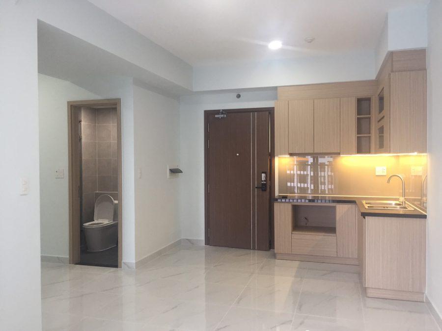 Hiện trạng bàn giao thực tế căn hộ 65.58m2 thiết kế 2PN/2WC tại dự án Lovera Vista - Khang Điền HCM