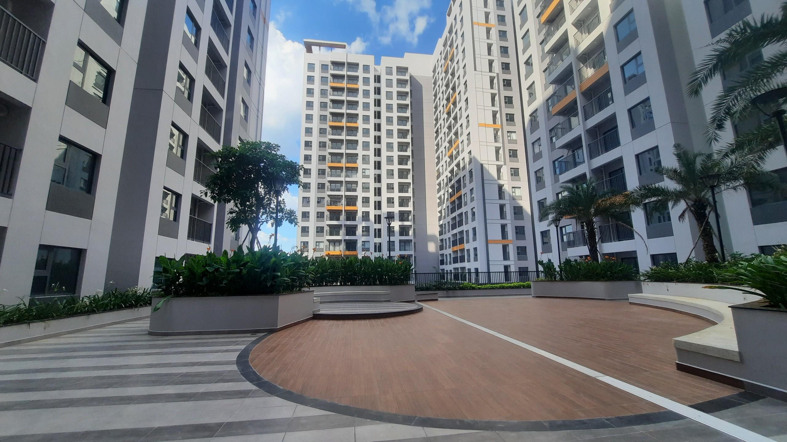 Một góc Sân vườn tại dự án Lovera Vista Bình Chánh - Khang Điền HCM
