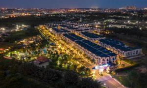 Hình nhr thực tế về đêm dự án Verosa Park Khang Điền Quận 9 - Khang Điền HCM